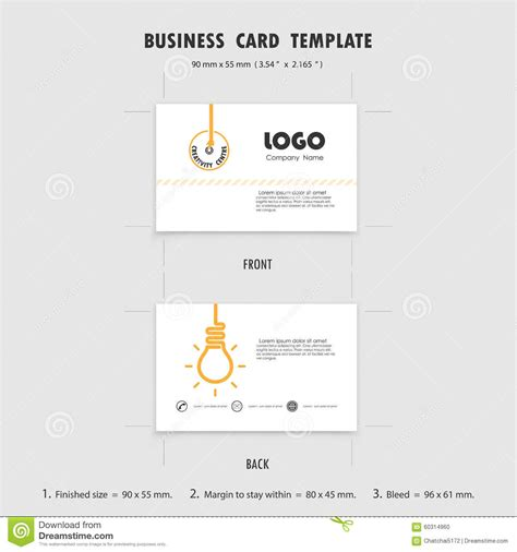 size for business card design templates abstract creative business cards design template size