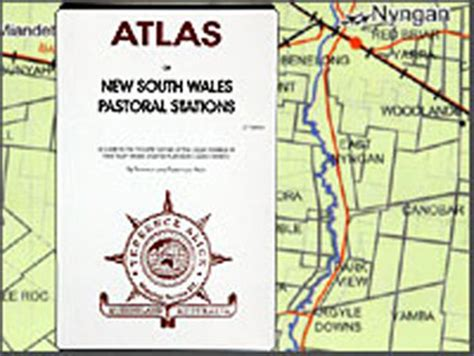 Map Voucher 300000 new south wales pastoral stations atlas 9780975699805