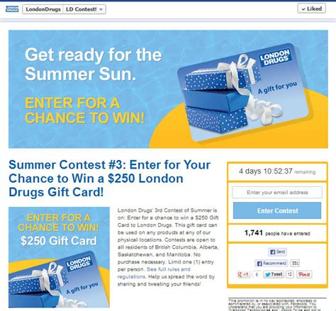 30 amazing exles of branded facebook contests done right - Facebook Sweepstakes Exles