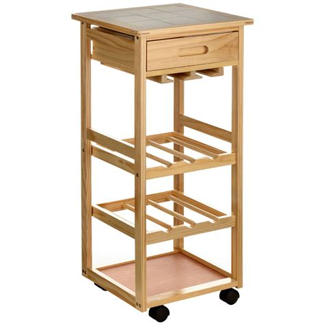 Kitchen Trolley by Top 5 Wooden Kitchen Trolleys To Match Your Kitchen