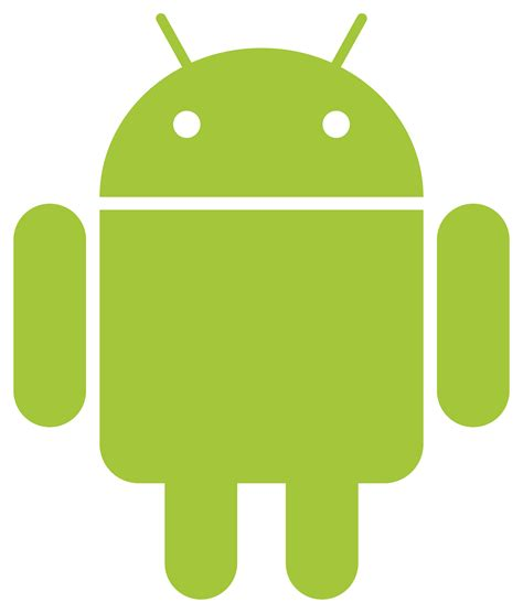 green android android robot green transparent png stickpng