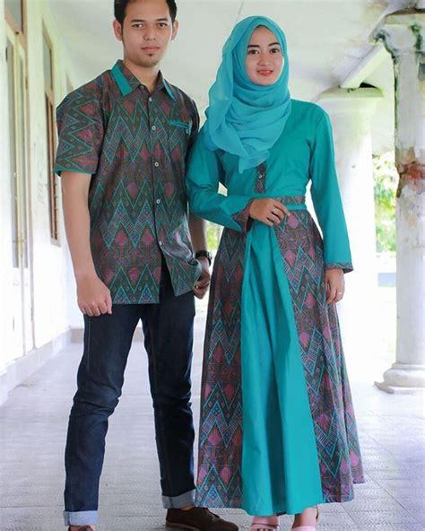 22 Model Baju Gamis Batik Kombinasi Modern Dan Trendy