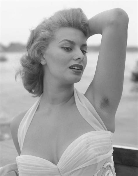 hairy hollywood women sophia loren from stars with armpit hair e news