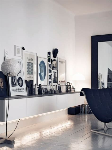 black and white home design inspiration ikea besta einheiten in die inneneinrichtung kreativ