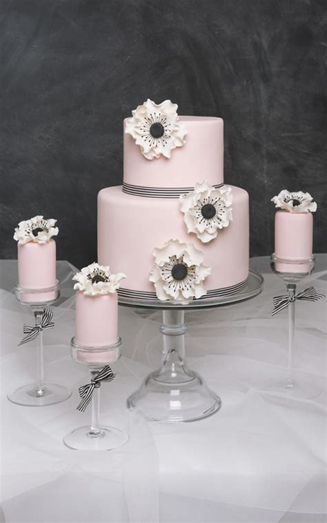 Wedding Cake Black And White Simple by Simple Wedding Cake Custom Designed 2 Tier Modern