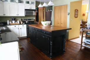 Black Kitchen Island by Minimalist Kitchen Island Design Ideas Mykitcheninterior