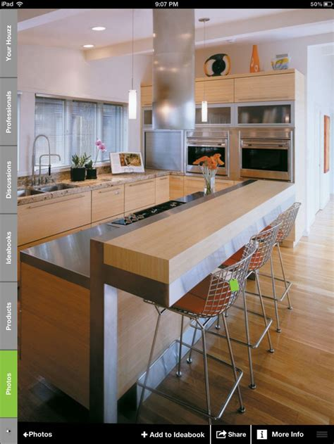 raised kitchen island raised island bench kitchen ideas island
