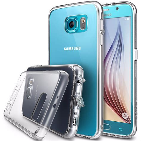 Rearth Ringke Fusion Samsung Galaxy S7 Flat View Clear funda ringke samsung galaxy s6 flat view