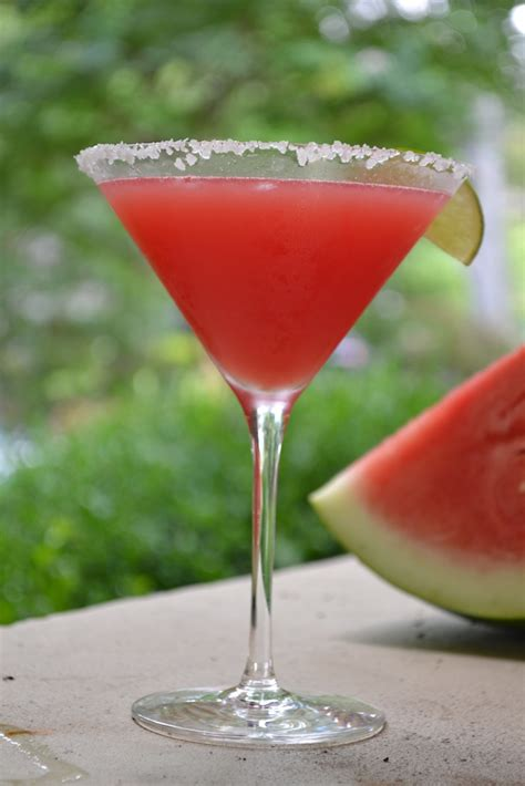 Fresh Watermelon Margaritas Recipe Dishmaps