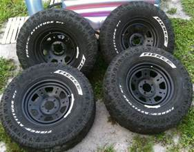 Tires And Rims Size 600 Obo Four Used Fierce Tires And Rims Size 285 75r16