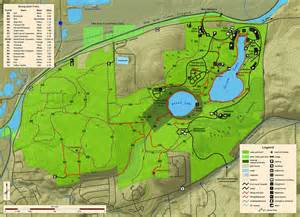 Green Lakes State Park Map by Green Lakes State Park
