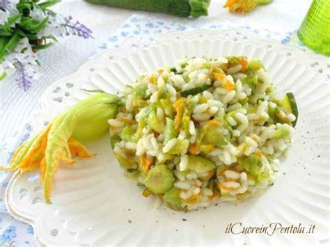 ricetta per risotto ai fiori di zucca risotto ai fiori di zucca ricetta con foto il cuore in