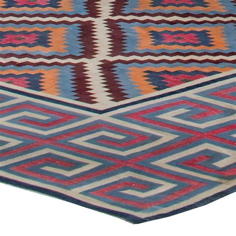 indian dhurrie rugs oversized vintage indian dhurrie rug for sale at 1stdibs