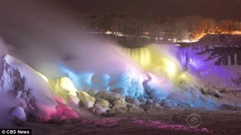 niagara falls unveils its dazzling new 4m led makeover