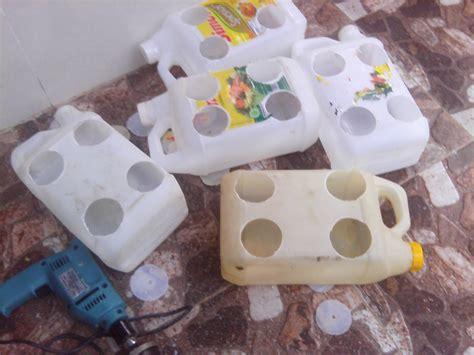 Sekam Ikan Bakar cara membuat hidroponik sederhana dengan barang bekas
