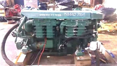 volvo penta tamda marine diesel engine youtube