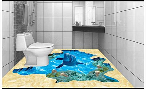 3d bathroom floor painting top 3d pool tiles wallpapers