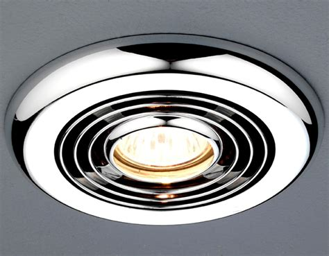 Bathroom Ceiling Extractor Fans With Light Hib Turbo Inline Chrome Ceiling Mounted Extractor Fan 32300