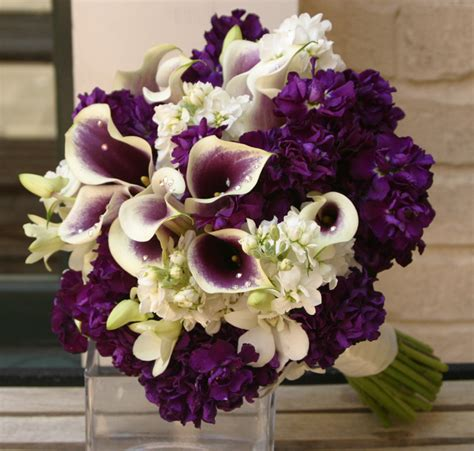 Bouquet Flower Arrangement For Wedding by Purple Wedding Flower Arrangements Wedding And Bridal