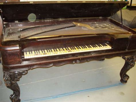 Square Piano weber square grand piano antique piano shop