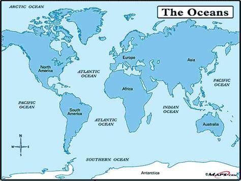 map   world  seas holidaymapqcom