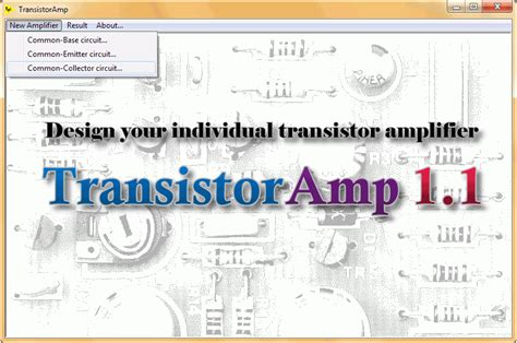 transistor lifier design calculator howto design a transistor in common collector configuration with transistor 1 1 software