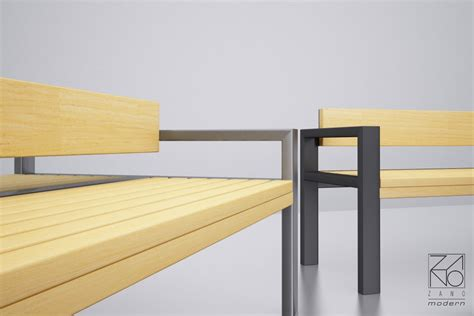 bench shopping street benches by zano changing your surroundings