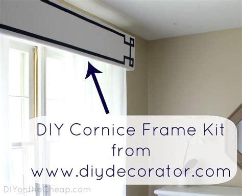 Diy Cornice Diy Cornice Frame Kit From Diydecorator You