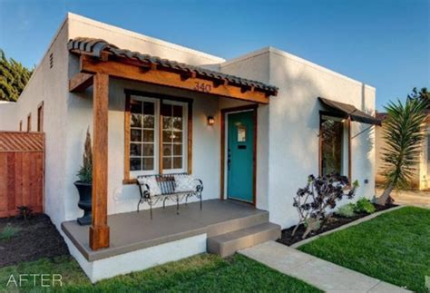 old bungalow in california gets contemporary makeover spanish beach bungalow makeover