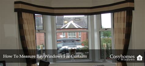 how to measure for bay window curtains how to measure your bay windows for curtains cosyhomes