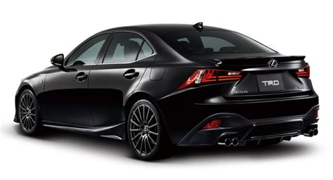 Corner L Toyota Corona At151 1 Set trd tries to make the 2014 lexus is f sport look even