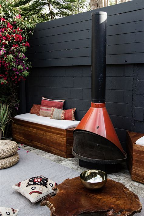 diy patio fireplace diy outdoor patio seating with stovepipe fireplace home design and interior
