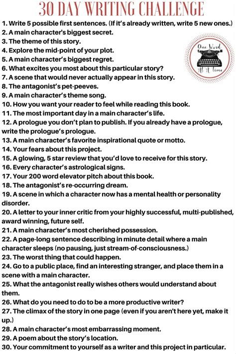 write your story turn your into fiction in 10 easy steps books best 20 writing challenge ideas on journal
