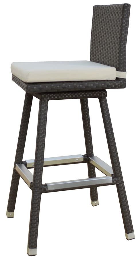 outside patio bar stools high outdoor patio bar stool swivel with metal base