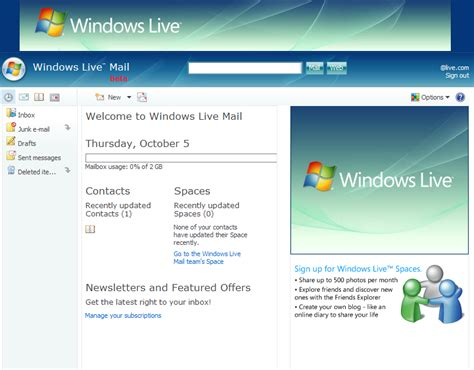 live mail gets update to m8 liveside net