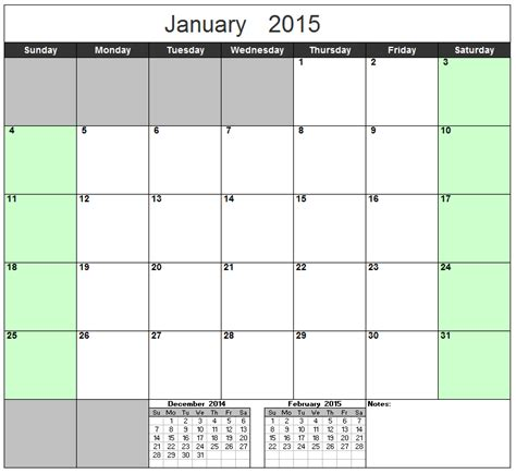 2015 excel calendar template best photos of 2015 excel calendar template 2015 month