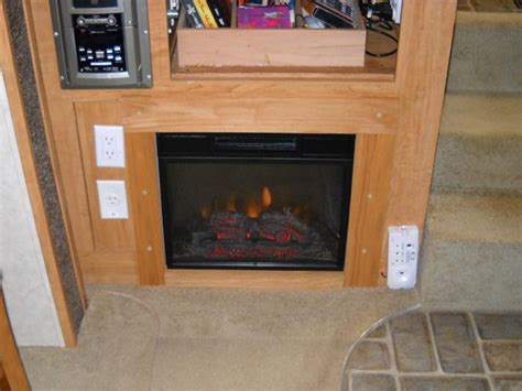 rv with fireplace electric fireplaces direct resource center electric