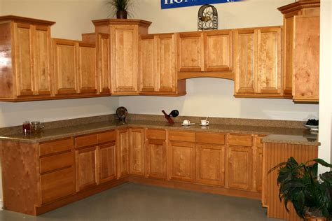 Upper Kitchen Cabinets With Glass Doors beaded back panel beadboard honey maple kitchens rta