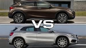 Infiniti Vs Mercedes 2017 Infiniti Qx30 Vs Mercedes Gla