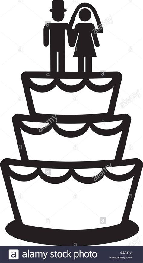 Wedding Cake Vector by Wedding Cake Icon Stock Vector Illustration Vector