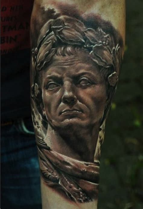 caesar tattoo 35 new 3d for the modern age