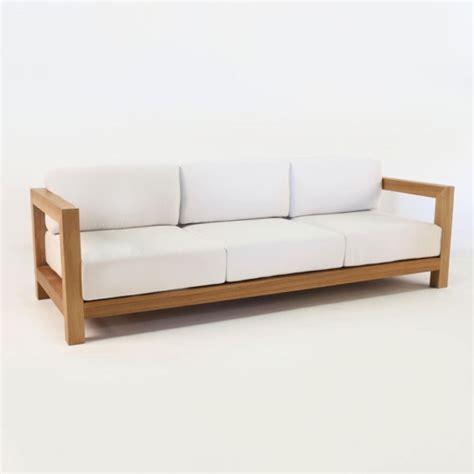 ibiza sofa ibiza teak outdoor sofa patio furniture lounge couch