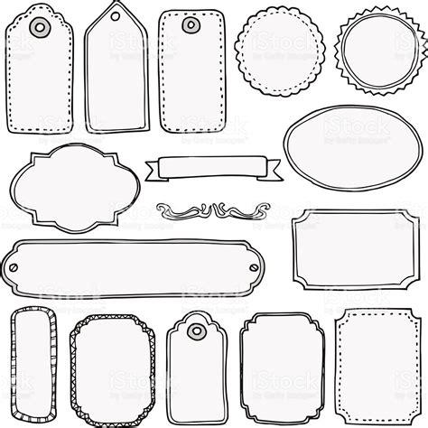 etiquetas para libros blanco negro imagenes y dibujos juego de dibujo a mano aislado en blanco marcos vintage