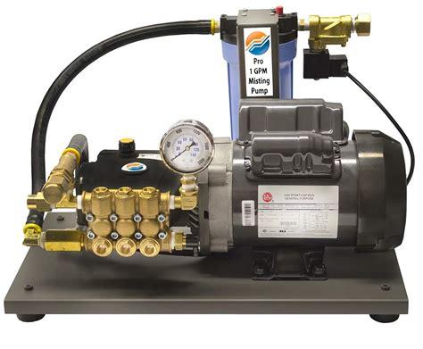 Large High Pressure Misting Pumps 1000 PSI
