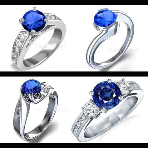 imagenes de negro zafiro anillo de compromiso oro 18k con zafiro natural y