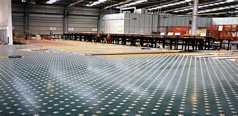 mat decks for air cargo uld transfer