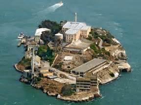 alcatraz island aerial photo