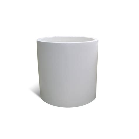 white planters modern white fiberglass planter 22 quot