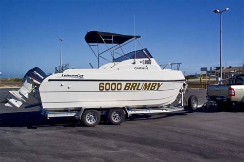 leisure boats for sale australia new leisurecat 6000 brumby power boats boats online for