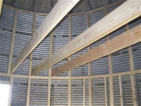 Metal Building With Living Quarters Floor Plans Farm Show Grain Bin Converted To Home Fo 9 000